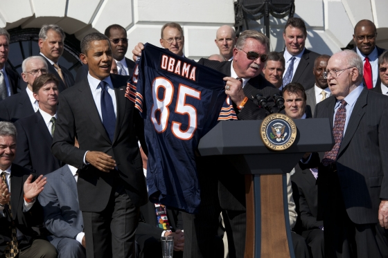 President and Ditka