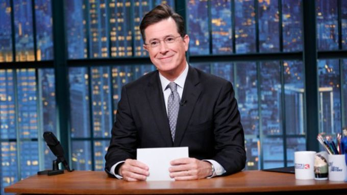 Stephen Colbert Late Show Premiere