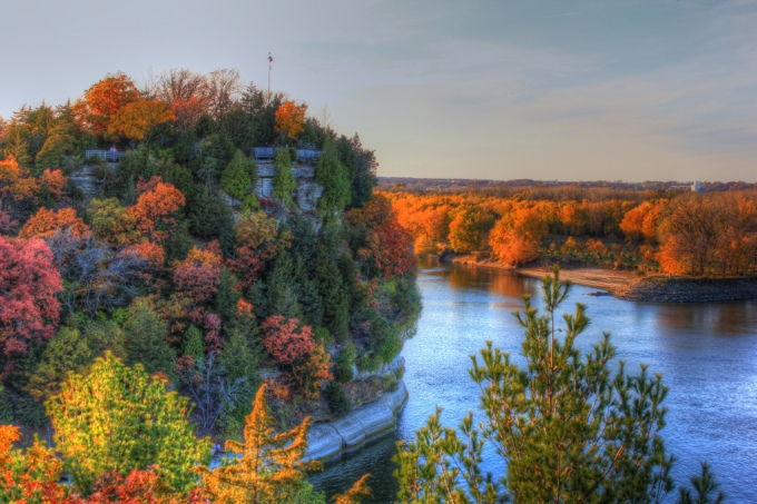 Starved Rock Fall