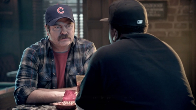 Nick Offerman Cubs