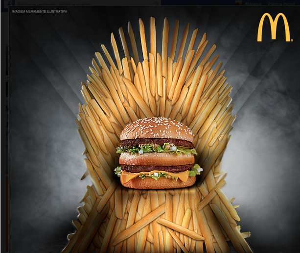 Mcdonald S Sits Upon Fast Food Iron Throne With 24 Hour