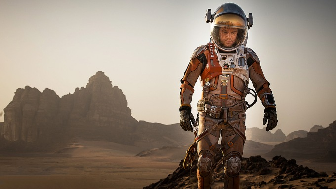 The Martian astronauts