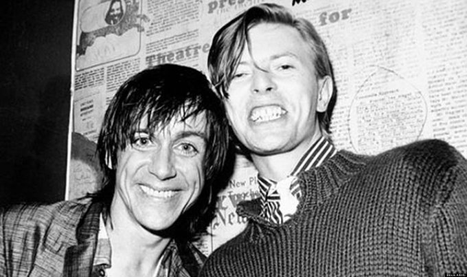 Iggy and Bowie