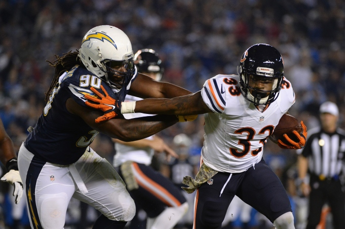 Chicago Bears v San Diego Chargers