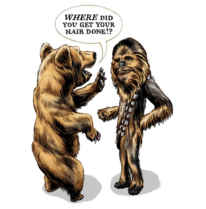 Rev Bear and Chewie