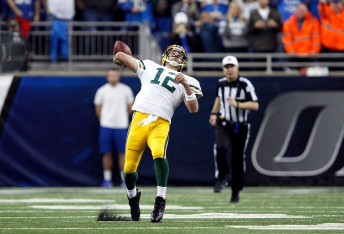 USP NFL: GREEN BAY PACKERS AT DETROIT LIONS S FBN USA MI